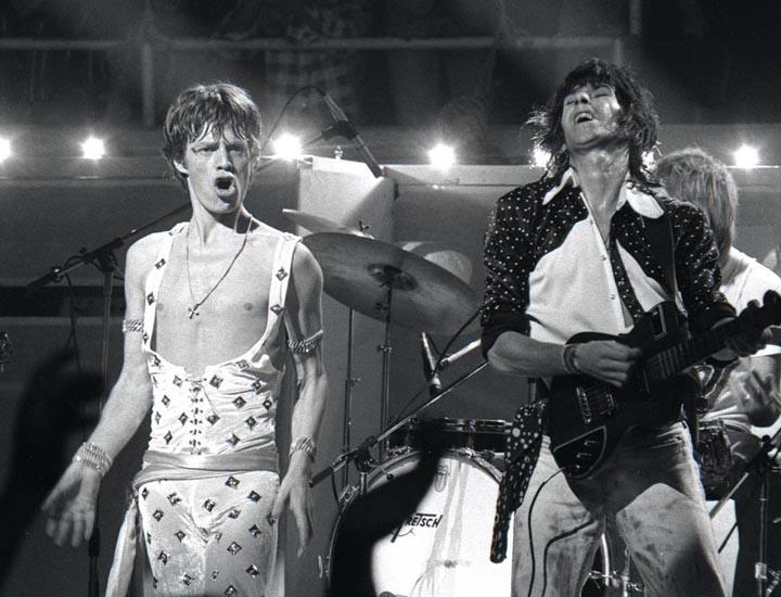 Mick & Keith Honolulu 1973