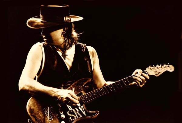 Stevie Ray Sepia