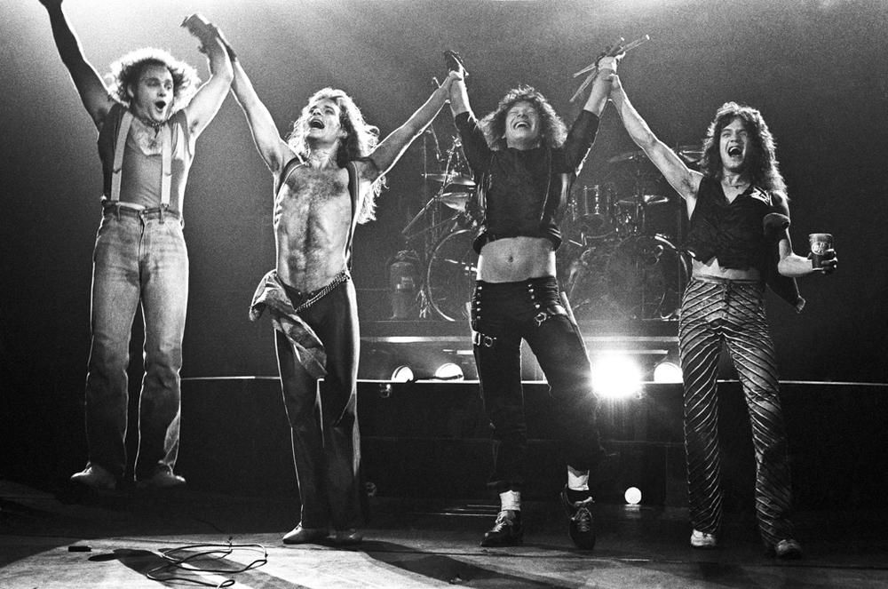 Van Halen Performing 1979