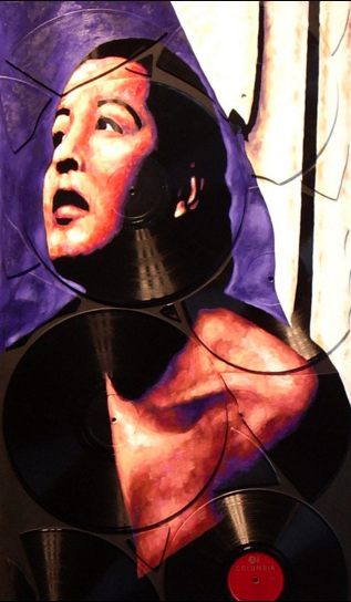 "Them There Eyes - Billie Holiday - 19"" x 36"""