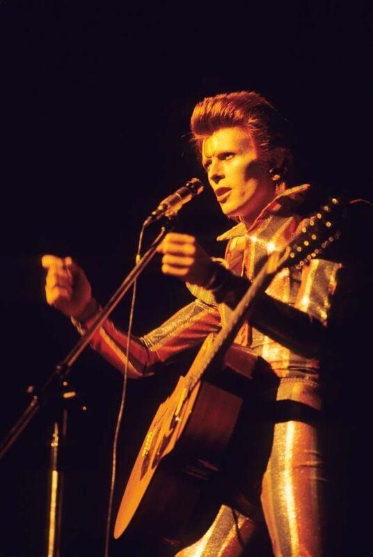 David Bowie 1970 Ziggy Stardust