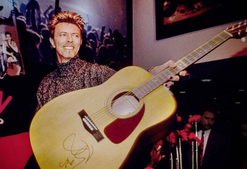 David Bowie Guitar 1995
