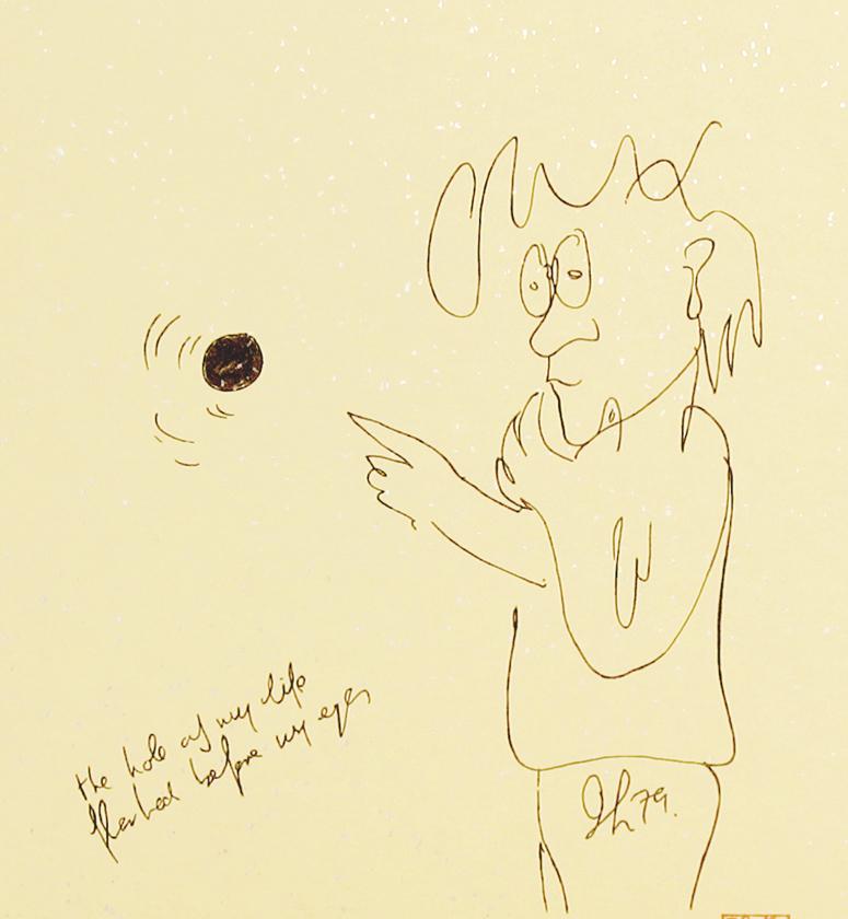 "Hole In My Life (Shikishi) 8"" x 8.75"""