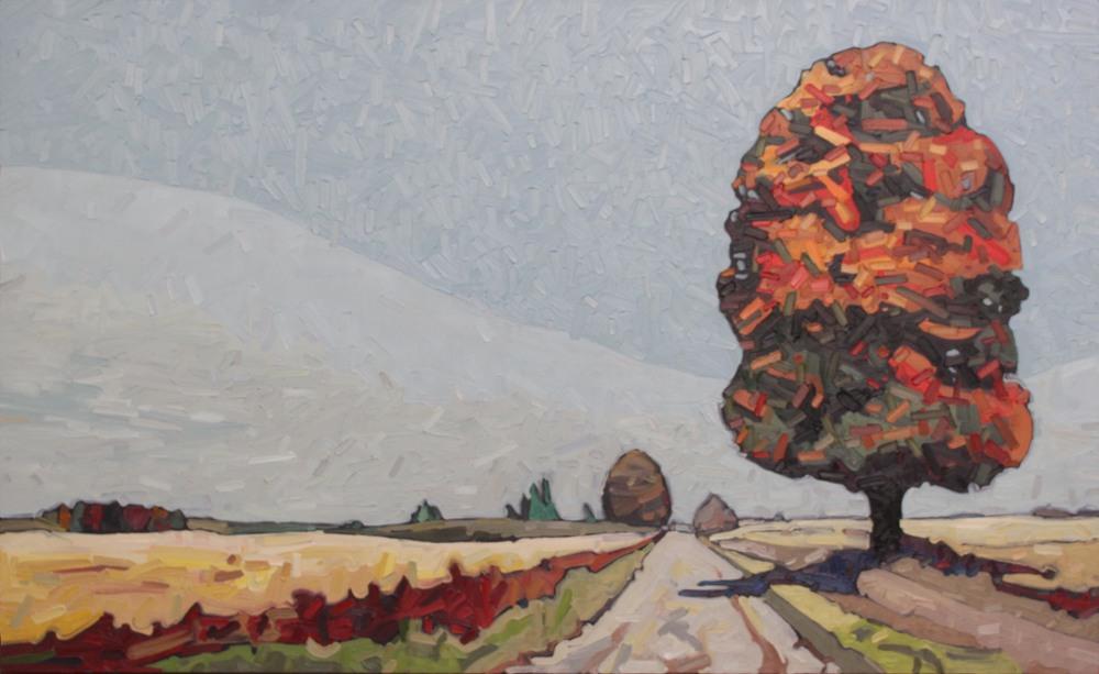 "Tree Path #2 - 36"" x 60"""
