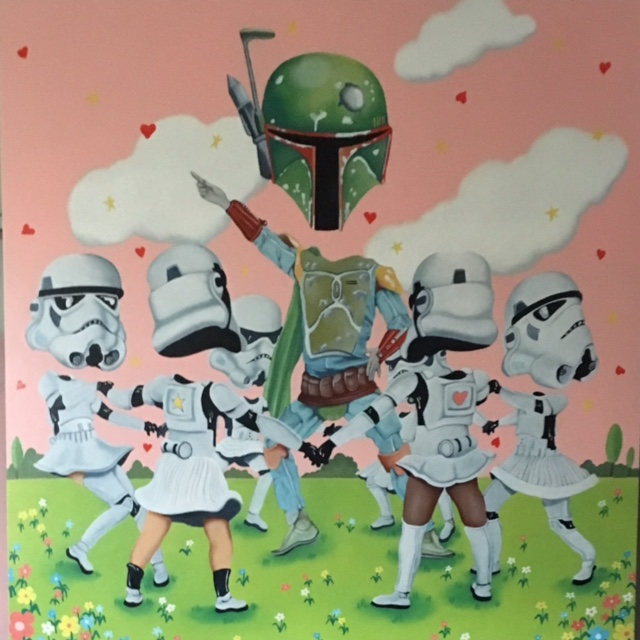 "Princess Academy 36"" x 36"""