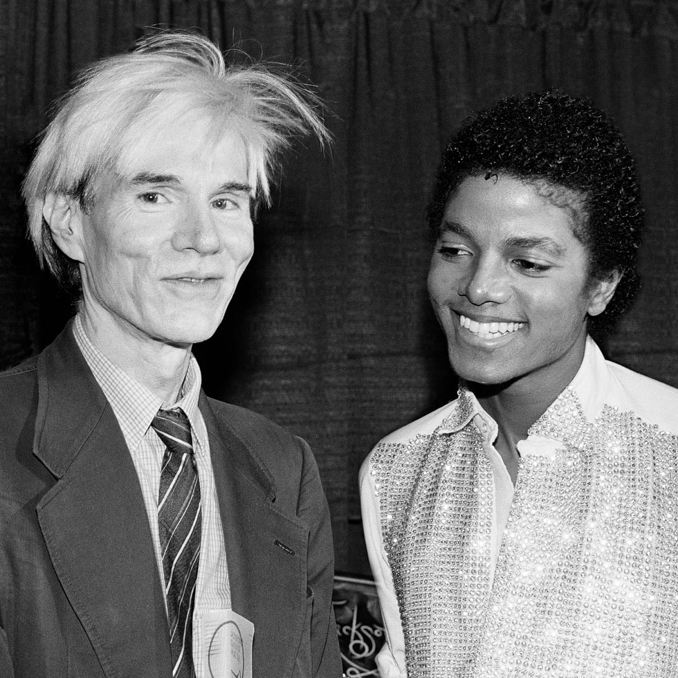 Andy Warhol and Michael Jackson
