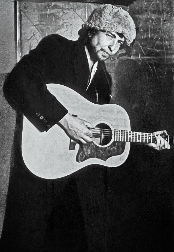 Dylan w/guitar