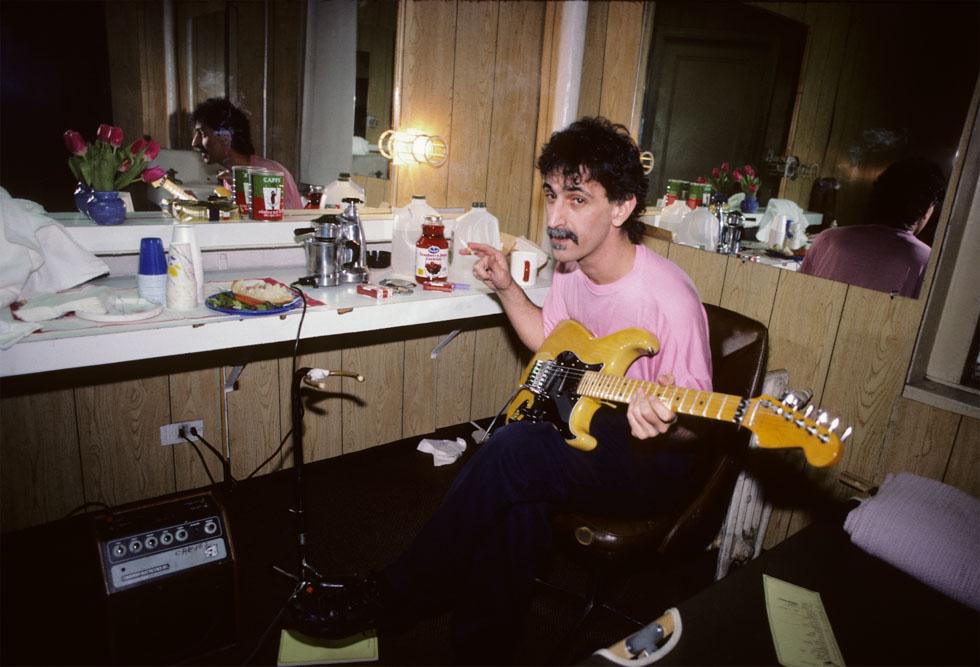 Frank Zappa Guitar 1988