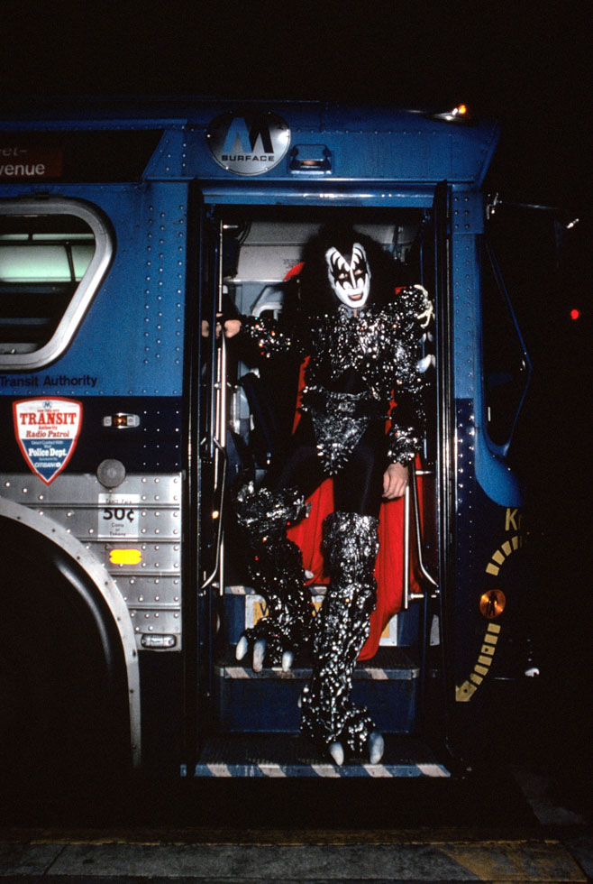 KISS Gene Simmons 1979