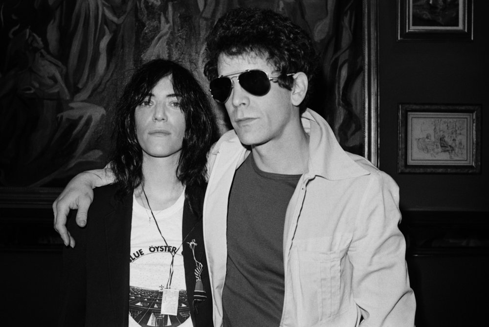 Patti Smith Lou Reed (3) 1977