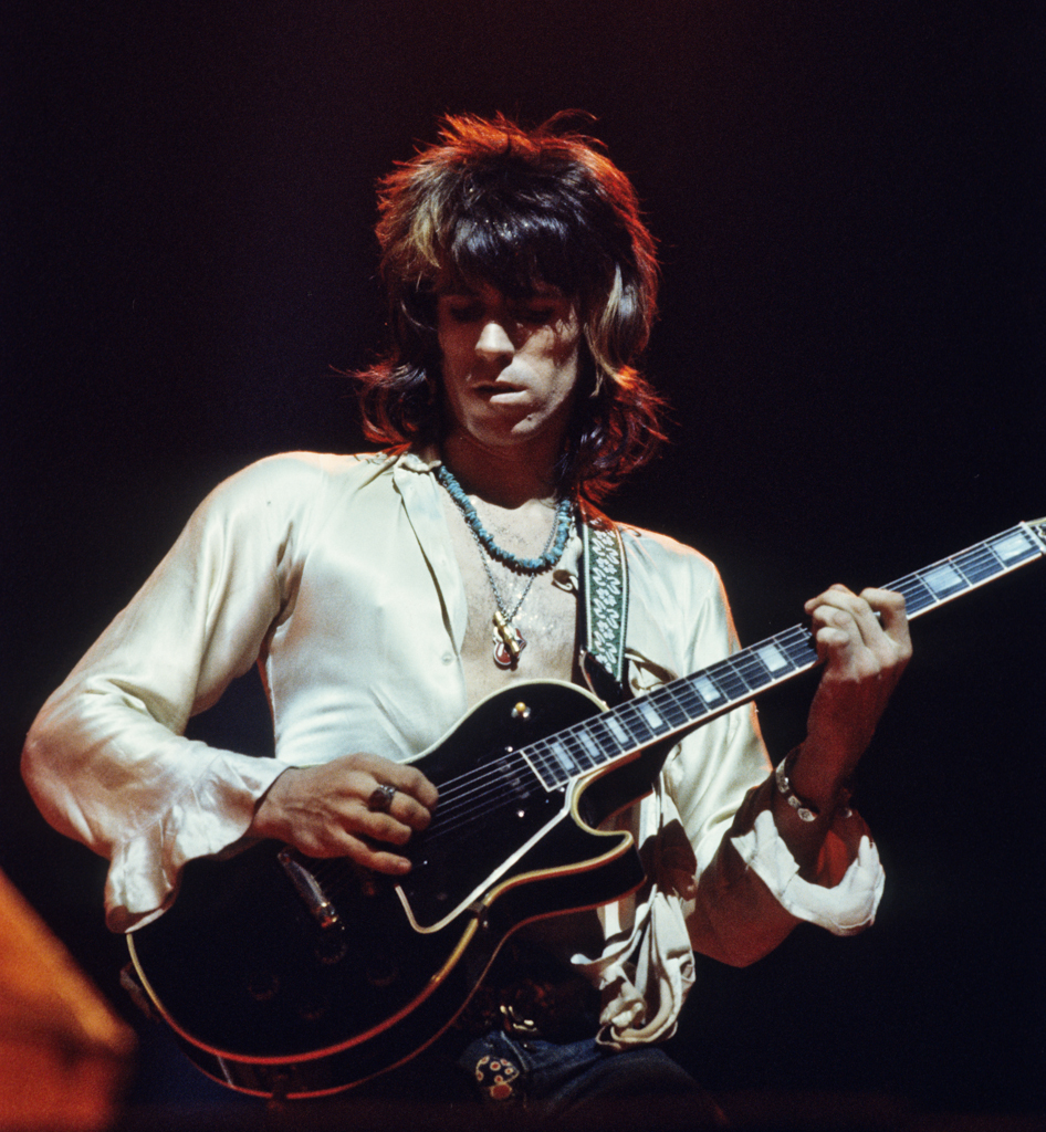 Rolling Stones Keith Richards 1972