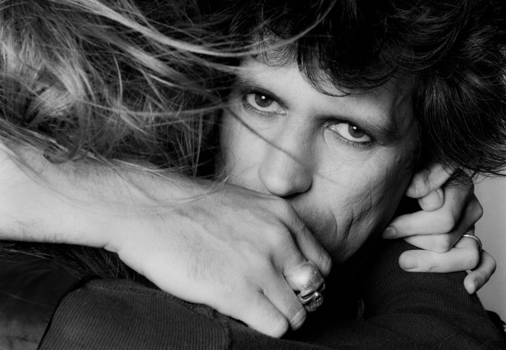 Rolling Stones Keith Richards and Patti Hansen 1981 (03)