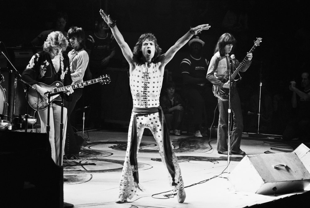 Rolling Stones, Mick Jagger 1972 (04)