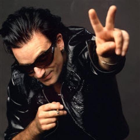 Bono Peace Sign, 1992