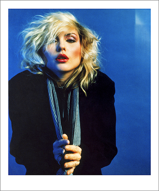 Blue Debbie Harry, NYC 1978