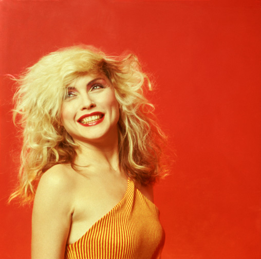 Debbie Harry, Orange Smile, New York 1978
