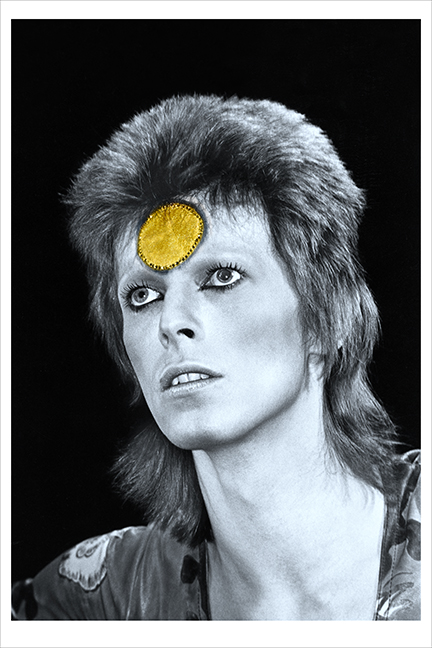 Bowie, Gold Spot, UK 1973