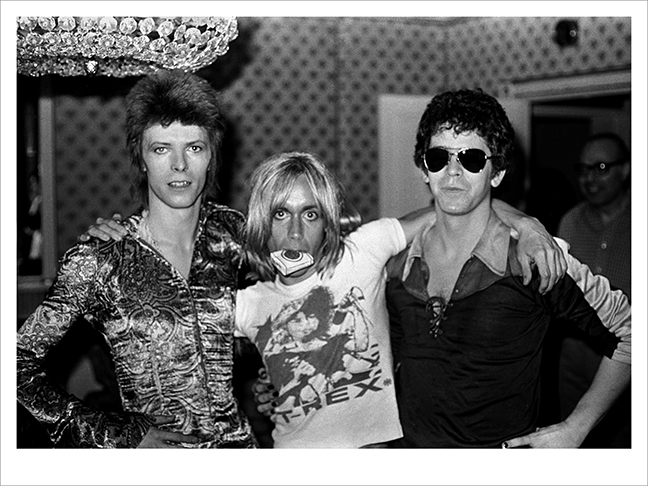 Bowie, Iggy & Lou Reed 2, Dorchester Hotel, London 1972