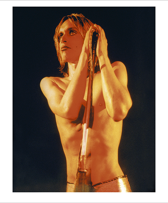 Iggy Pop Raw Power Album Cover, London 1972