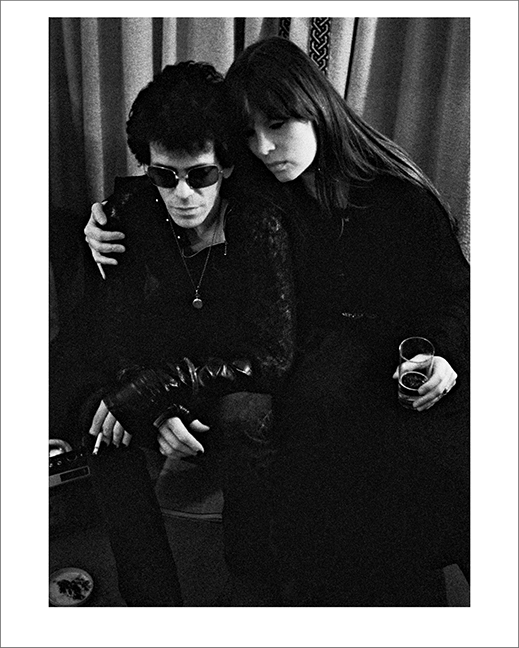 Lou Reed and Nico at Blakes Hotel, London 1975