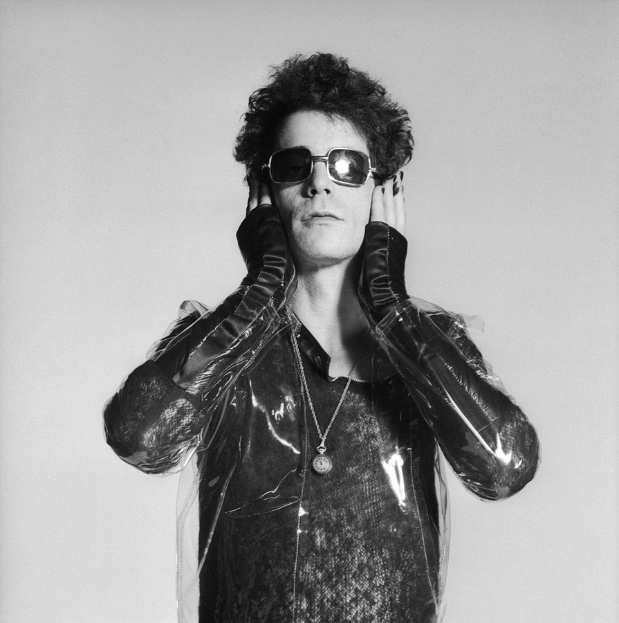Lou Reed Holding Head, London 1976