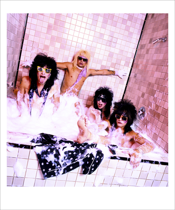 Motley Crue Bubble Bath 2, LA 1986