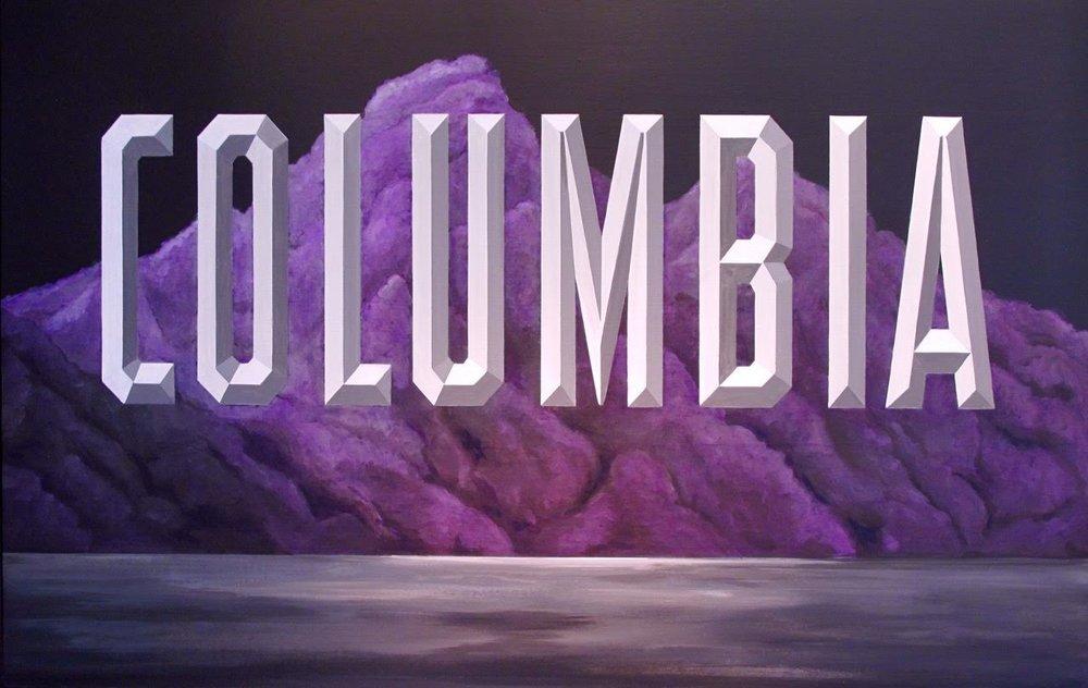"""Columbia 72"""" x 48"""""""
