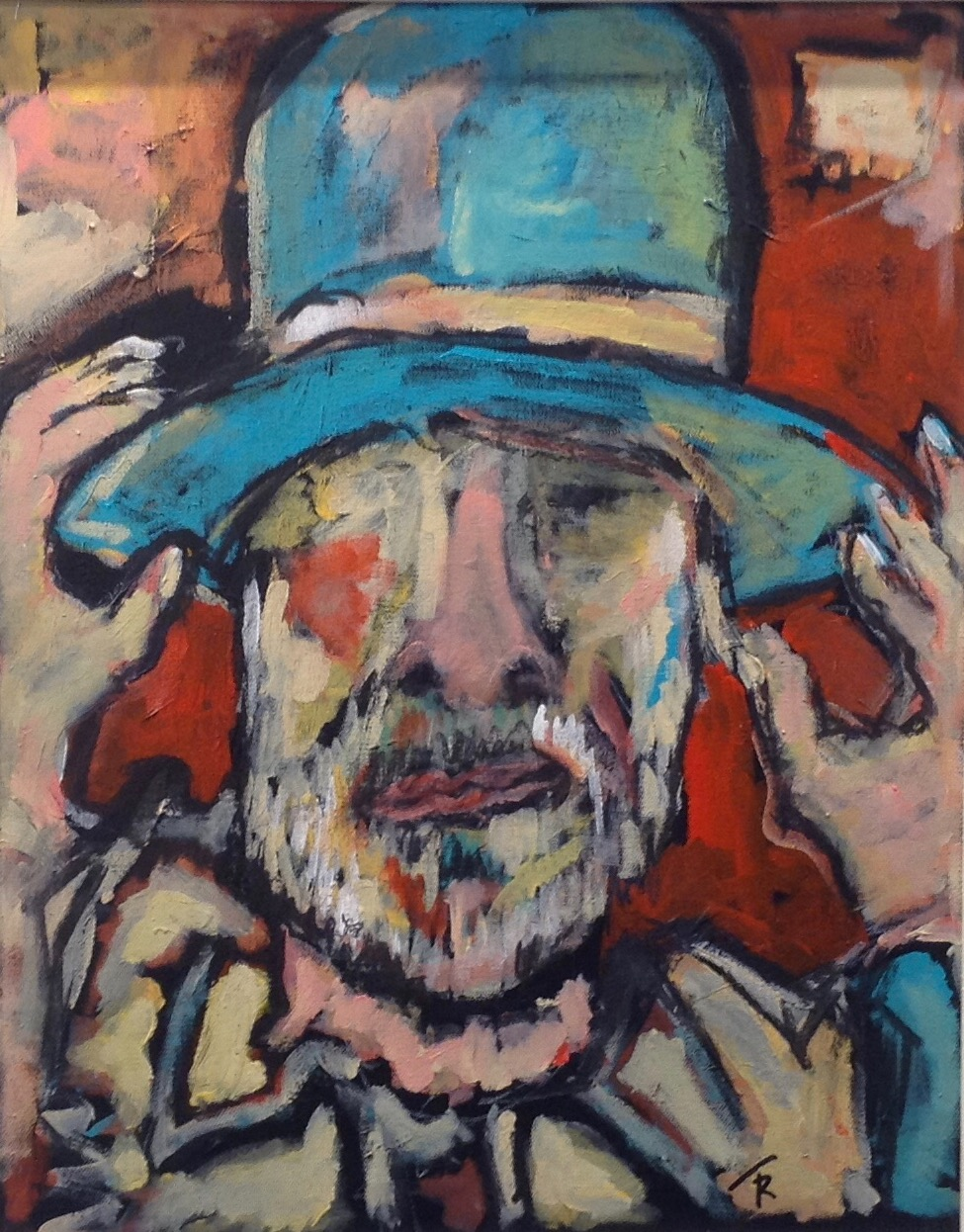 "Lawrence Ferlinghetti 16"" x 26"""