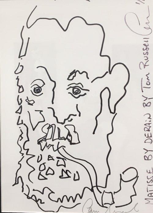 """Matisse by Derain 8.5"""" x 11"""""""