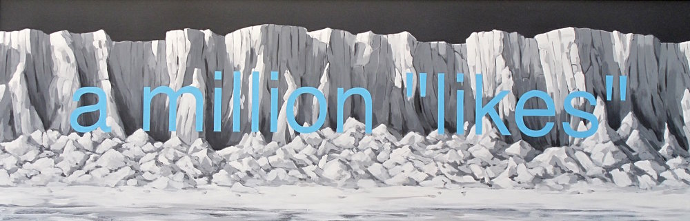 "A Million Likes 74.5"" x 24.5"""
