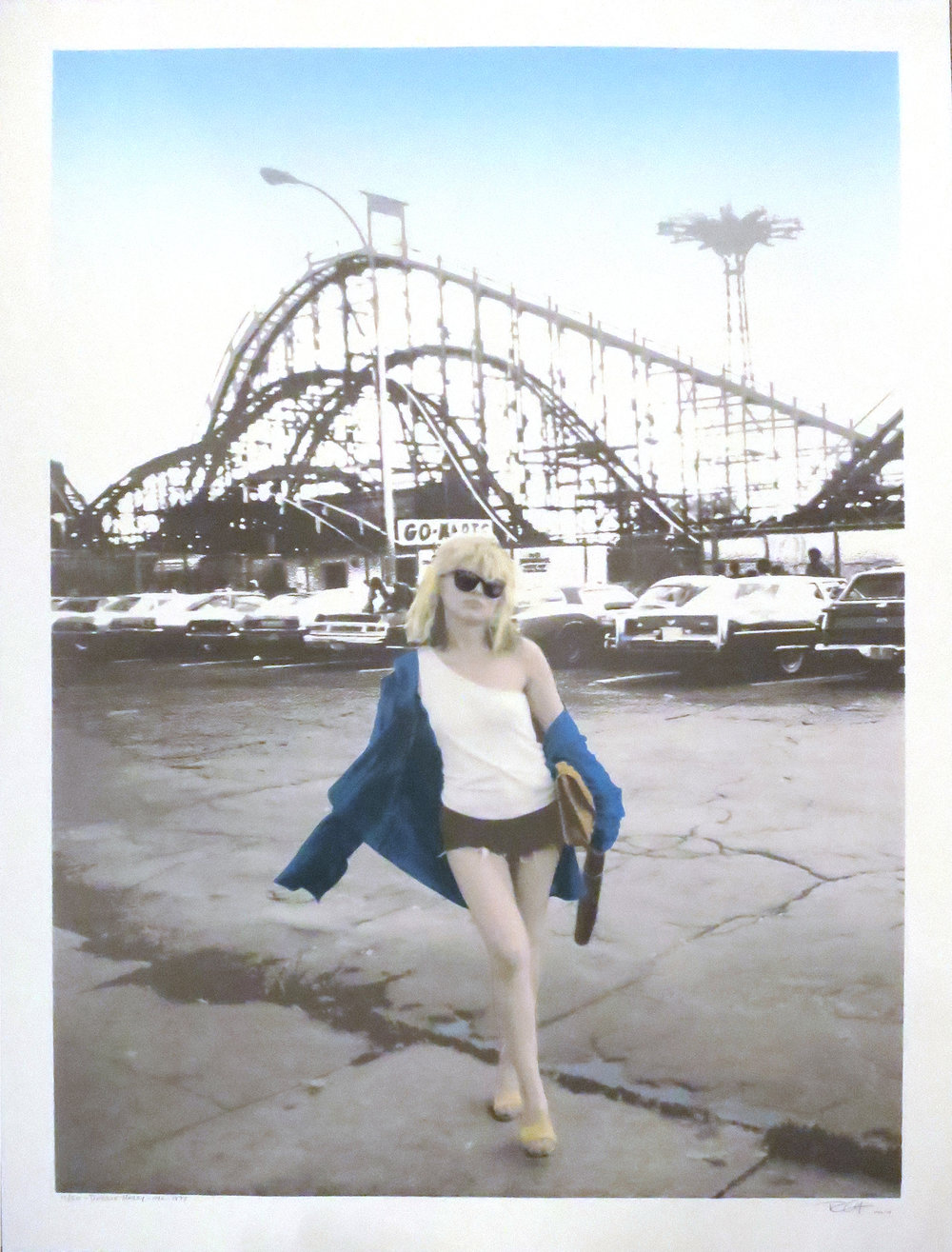 Debbie Harry, Coney Island, 1977.