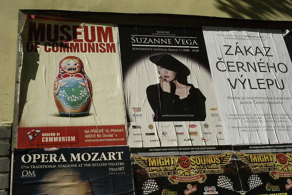 Suzanne Vega Poster - Prague