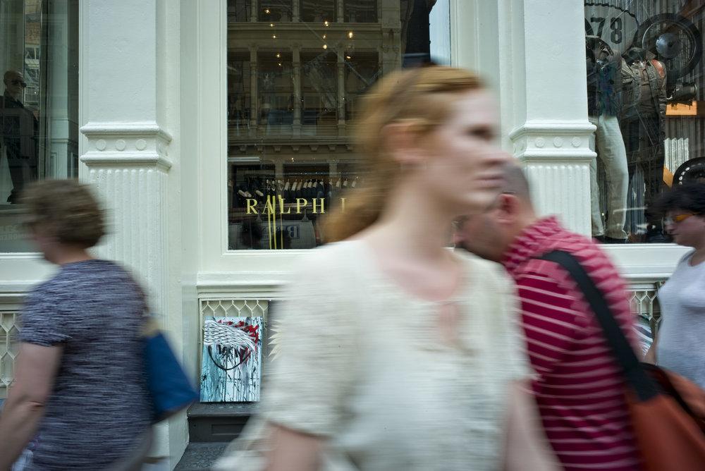 In Front of Ralph Lauren - SoHo