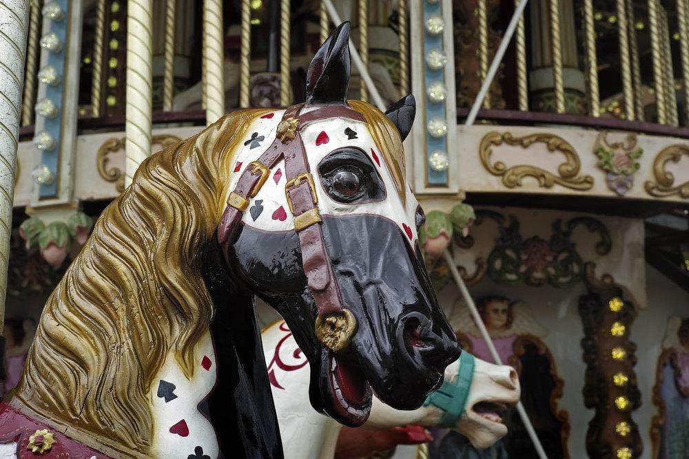 The Carousel En Fleur - Plate 2