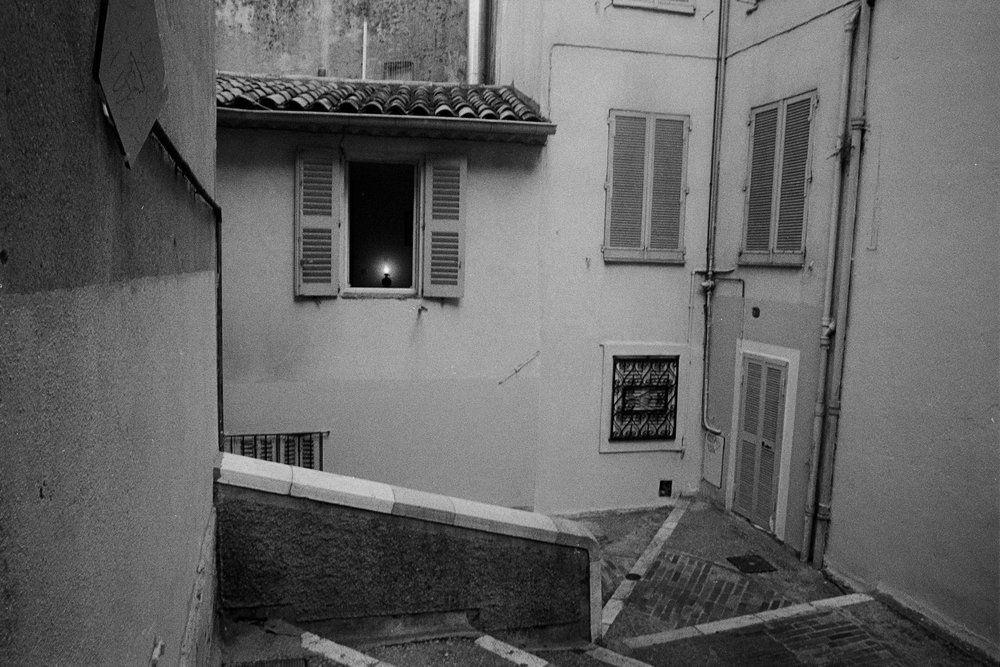 Light in Window - Cannes