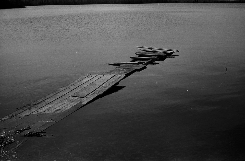 A Dock Long Forgotten in Thunder Bay