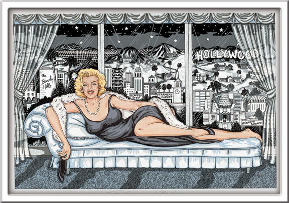 """Essence Marilyn, 16.5"""" x 11"""""""