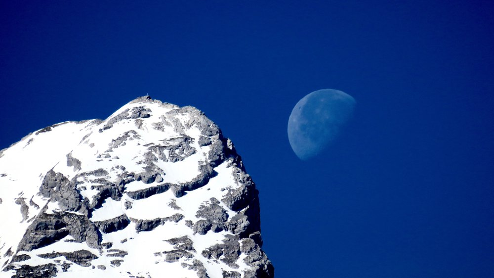 Moon & Mountains I