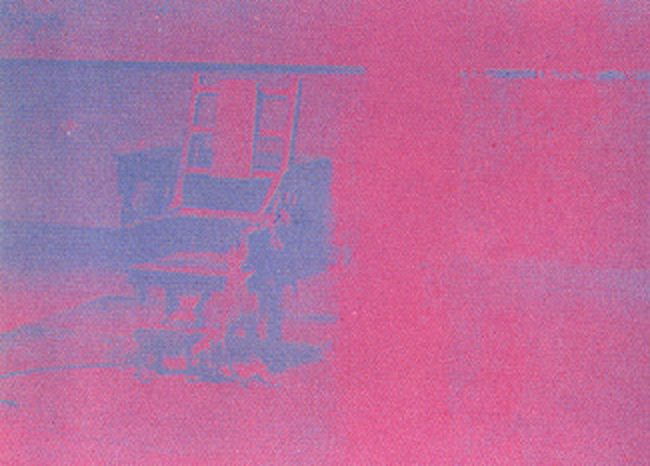 Electric Chair 75 By Andy Warhol