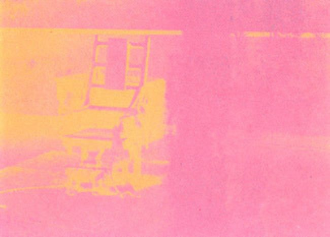 Electric Chair 82 By Andy Warhol