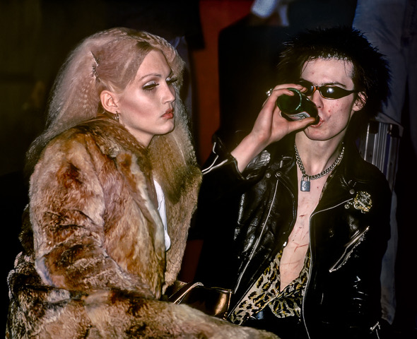 Sid Vicious and Nancy Spugen, 1978