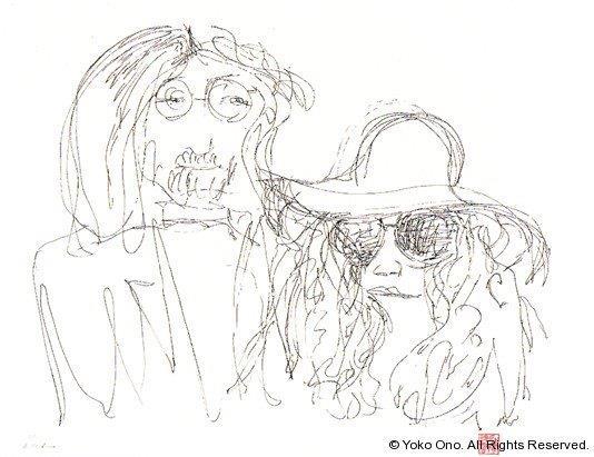 "The Ballad Of John And Yoko 18""x24"""