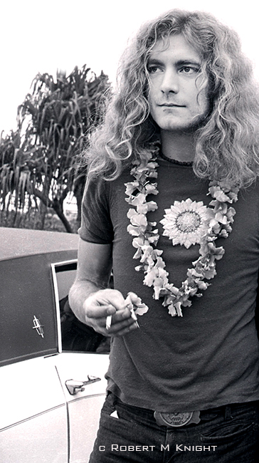 Robert Plant, Honolulu Airport, 1969