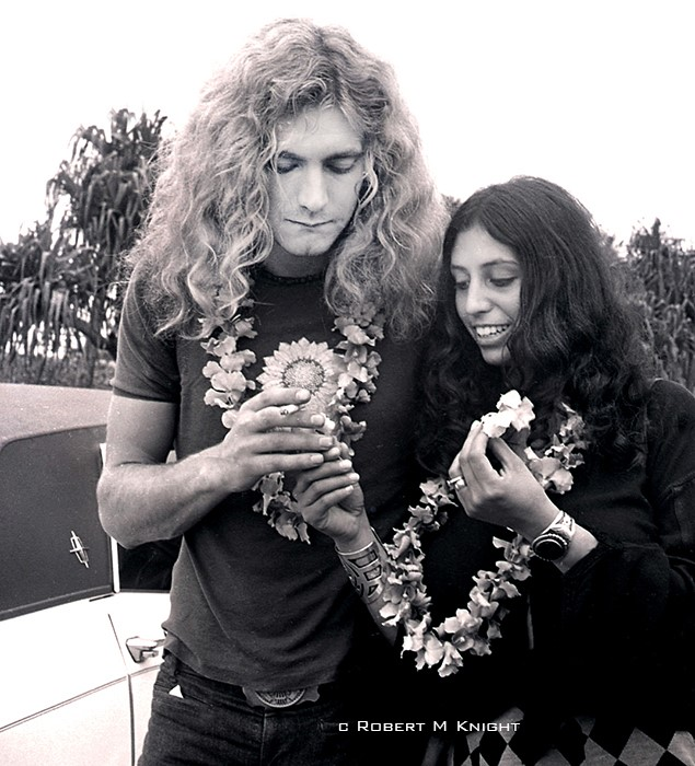 Robert Plant Gets Lai'd, Honolulu  Airport, 1969