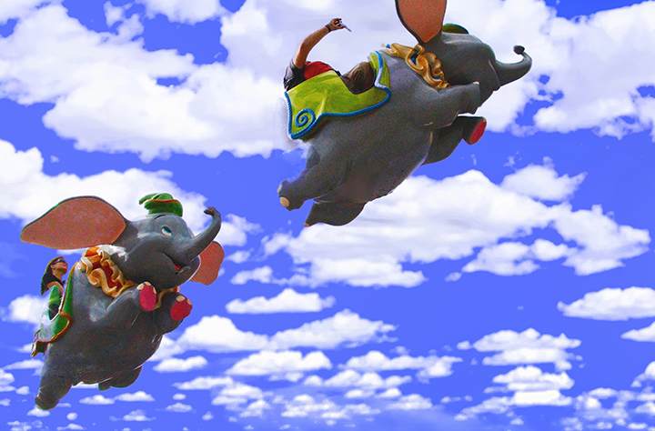Flying Dumbos