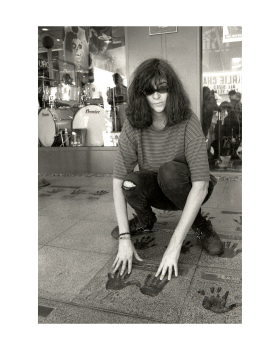 """Joey Ramone, Hollywood,1996"""