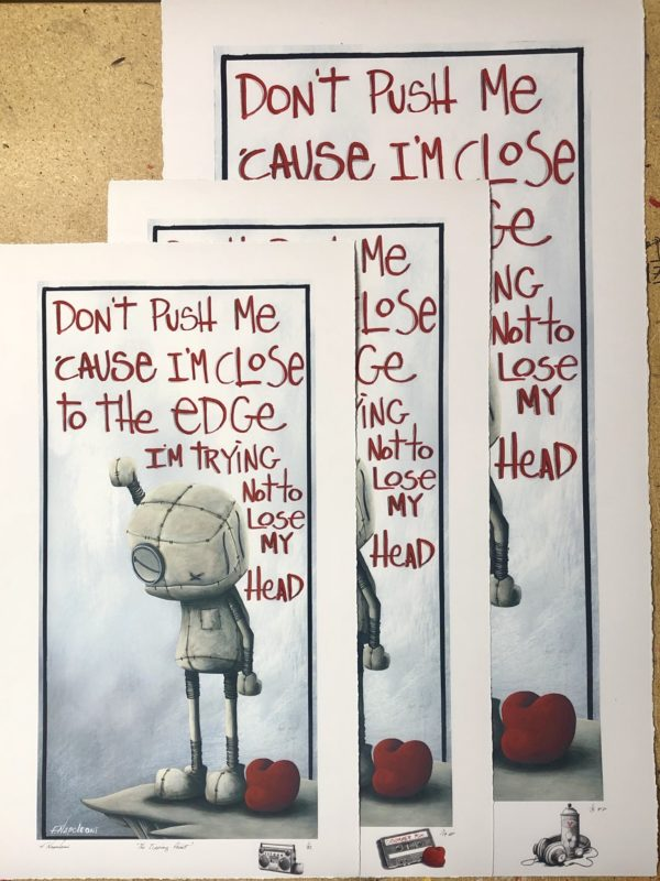 """The Tipping Point - 11""""x22"""""""