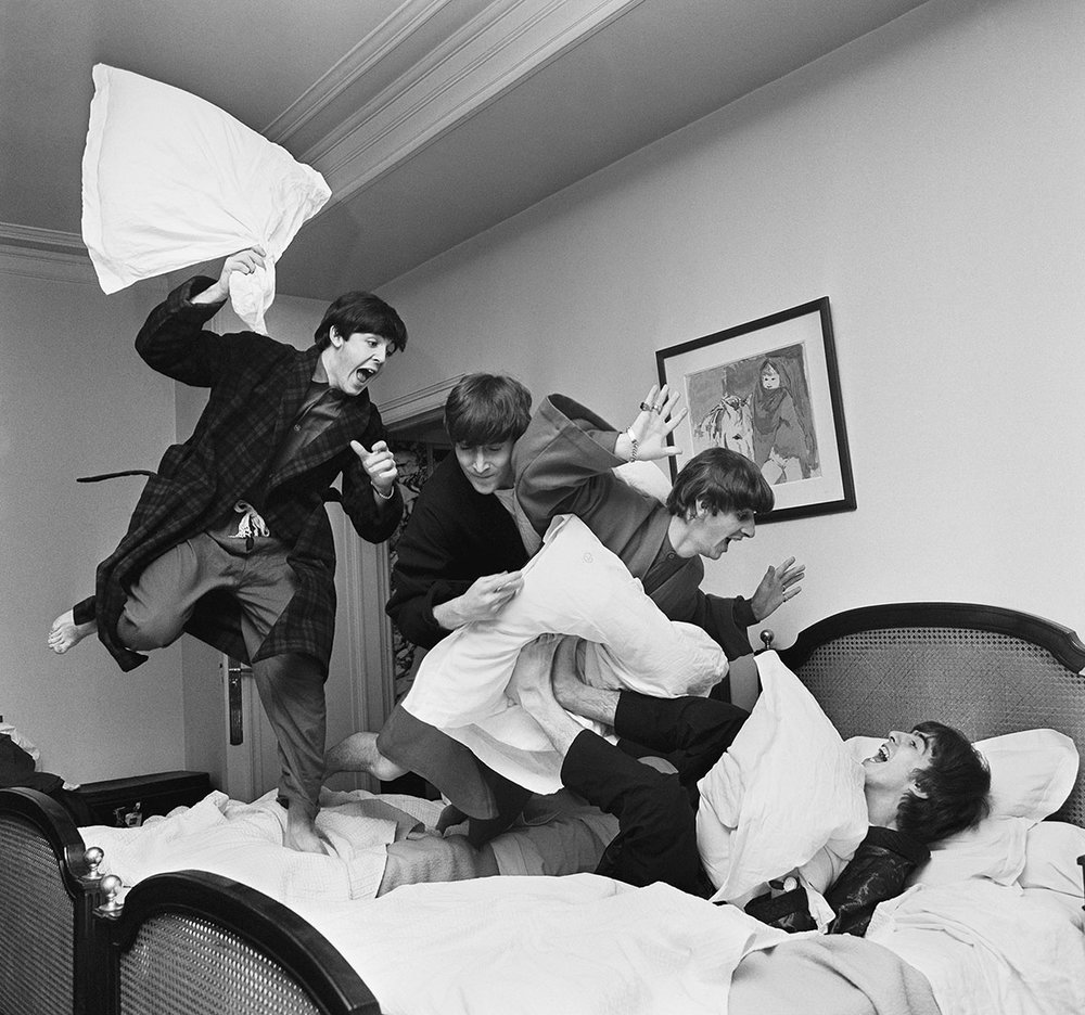 Beatles Pillow Fight
