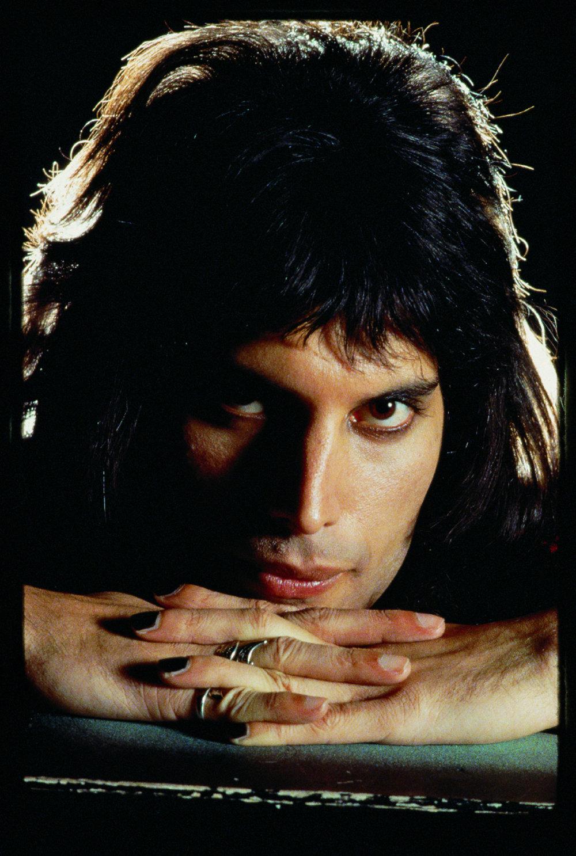 Freddie Mercury Hands Crossed