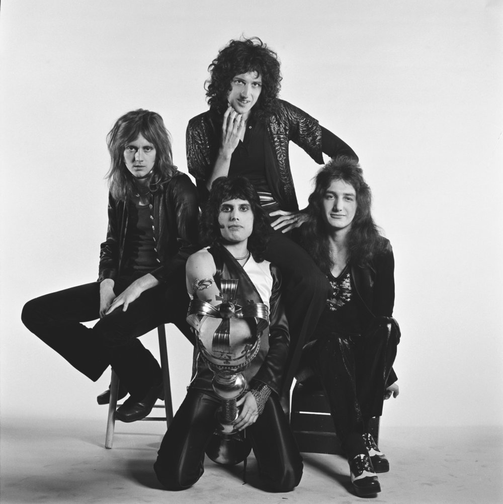 Queen With Sceptre, London 1974